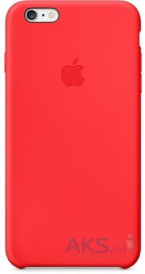 Чехол Apple Silicone Case iPhone 6 Red (MGQH2)