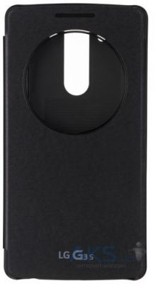 Чехол LG Quick Circle for LG G3s D724 Black(CCF-490G)