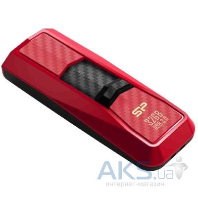 Флешка Silicon Power 32Gb Blaze B50 Red USB 3.0 (SP032GBUF3B50V1R)