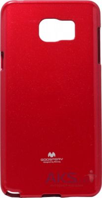 Чехол Mercury TPU Jelly Color Series Samsung N920 Galaxy Note 5 Red