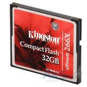 Вид 2 - Карта памяти Kingston 32Gb CF Ultimate 266x (CF/32GB-U2)