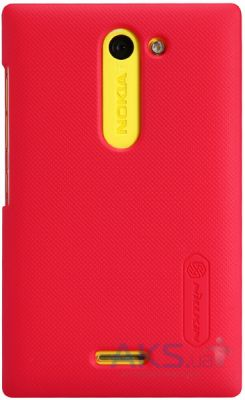 Чехол Nillkin Super Frosted Shield Nokia Asha 502 Red
