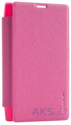 Чехол Nillkin Sparkle Leather Series Microsoft Lumia 435 Red