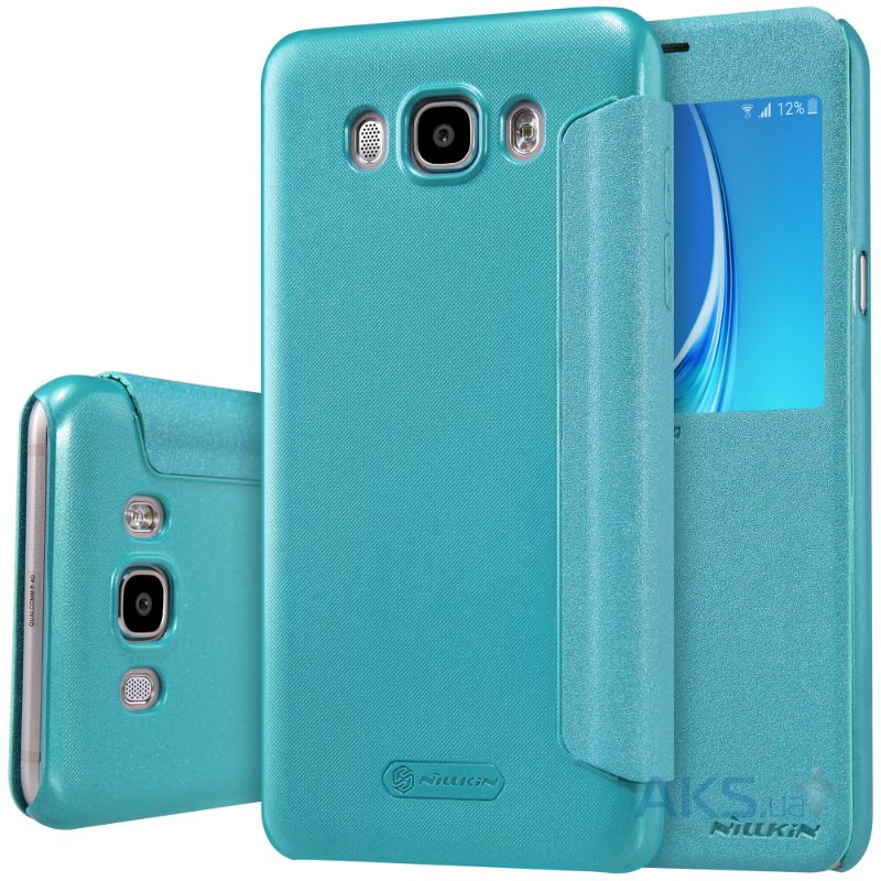 Чехол Nillkin Sparkle Leather Series Samsung J710 Galaxy J7 2016 Turquoise