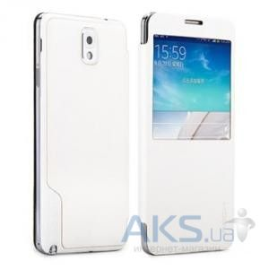 Чехол Rock Magic Window Series Samsung N9000 Galaxy Note 3 White (Note III-55708)
