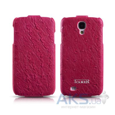 Чехол iCarer Ostrich Pattern for Samsung Galaxy S4 Rose