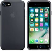 Вид 3 - Чехол Apple Silicone Case iPhone 7, iPhone 8 Space Gray (MMX22_HC)