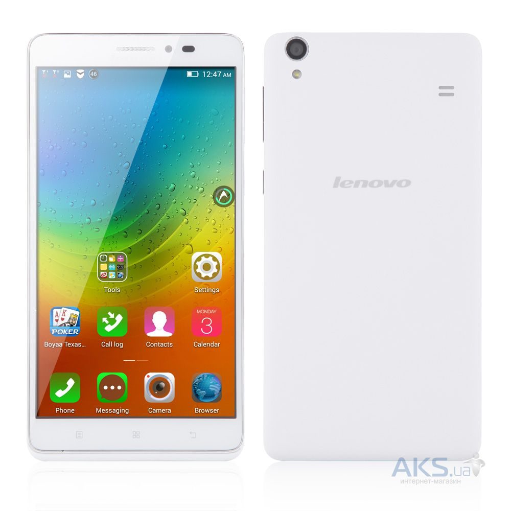 Сенсор (тачскрин) для Lenovo A936 Original White