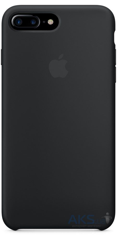 Чехол Apple Silicone Case iPhone 7 Plus, iPhone 8 Plus Black_HC