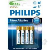 Батарейки Philips Ultra Alkaline * 4 (LR03E4B/97)