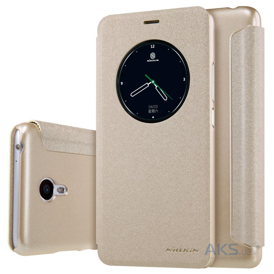 Чехол Nillkin Sparkle Leather Series Meizu M3 Note Gold