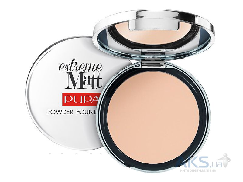 Пудра Pupa Extreme Matt Powder Foundation №010 - Porcelain