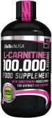 Жироспалювачі BioTech USA L-Carnitine 100.000 500ml яблоко