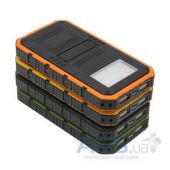 Вид 3 - Внешний аккумулятор MANGO Solar IPx6 6 LED Power Bank 12000mAh Black/Orange