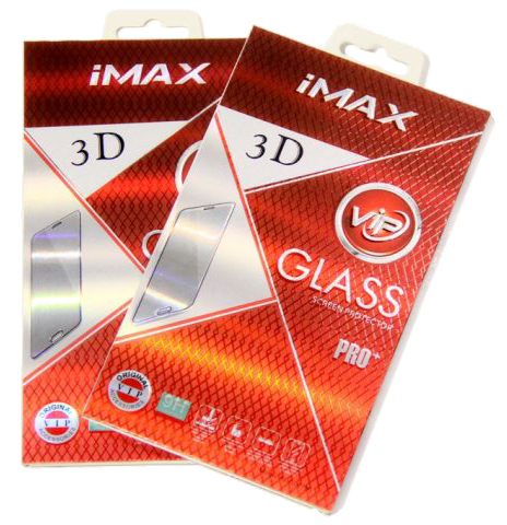 Защитное стекло IMAX 3D glass Apple iPhone 7, iPhone 8 Black
