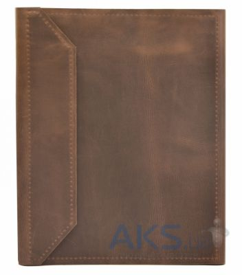 Обложка (чехол) Korka Rochester clutch Brown (U1-Roch-leath-br_clt) (кожа) для PocketBook 611/613/622 Touch