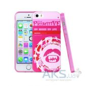 Чехол Remax Primitive 2 Apple iPhone 5, iPhone 5S, iPhone SE Pink