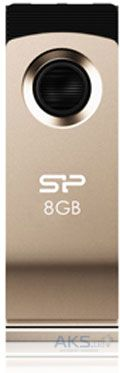 Флешка Silicon Power Touch 825 8 GB (SP008GBUF2825V1C) Silver