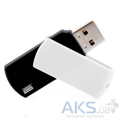 Флешка GooDRam 16Gb Colour Black/white