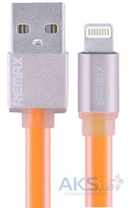 Кабель USB REMAX High Speed Sync&Charge Lightning Data Cable Yellow
