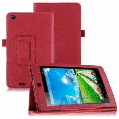 Чехол для планшета TTX Leatherette case для Acer Iconia One 7/One X Red