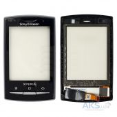 Сенсор (тачскрин) для Sony Ericsson X10 mini pro U20 Original Black