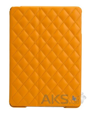 Чехол для планшета JisonCase Microfiber quilted leather case for iPad Air Yellow [JS-ID5-02H80]
