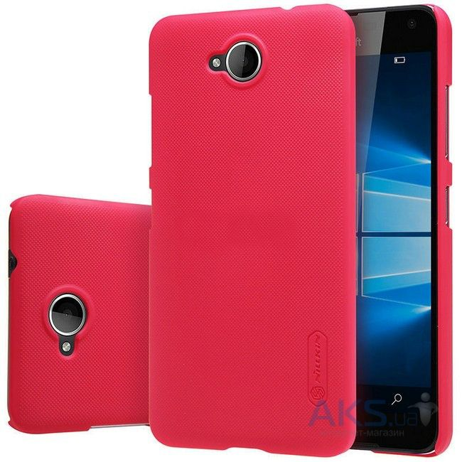 Чехол Nillkin Super Frosted Shield Microsoft Lumia 650 Red
