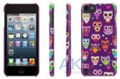 griffin Чехoл Griffin Wise Eyes for iPod touch 5G Purple/Pink for (GB36119) 122789