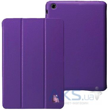 Чехол для планшета JustCase Leather Case For iPad mini Dark Purple (SS0019)