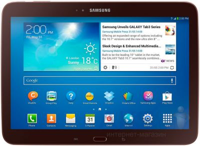 Сенсорные панели (тачскрин) Samsung P5200 Galaxy Tab 3 10.1, P5210 Galaxy Tab 3 10.1 Original Brown