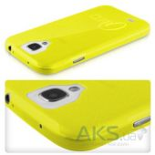Вид 2 - Чехол ITSkins Zero.3 cover case for Samsung i9500 Galaxy S IV Yellow (SGS4 ZERO3 YELW)