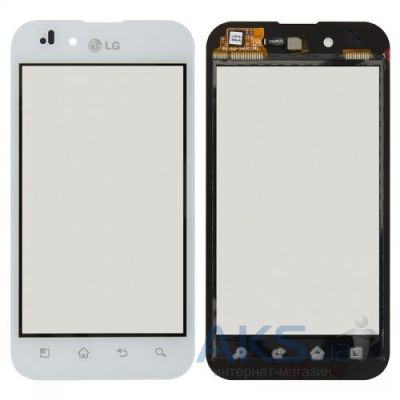 Сенсор (тачскрин) для LG Optimus P970 Original White