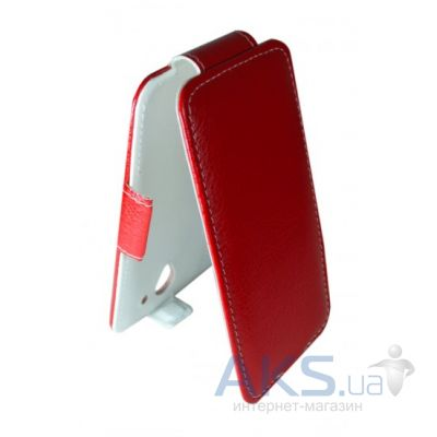 Чехол Sirius Flip case for HTC Desire V/X T328w Red