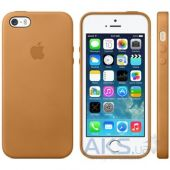 Чехол Apple Leather Case Apple iPhone 5, iPhone 5S, iPhone SE Brown MF041