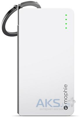 Повербанк power bank Mophie Juice Pack Reserve Lightning 1350 mAh White