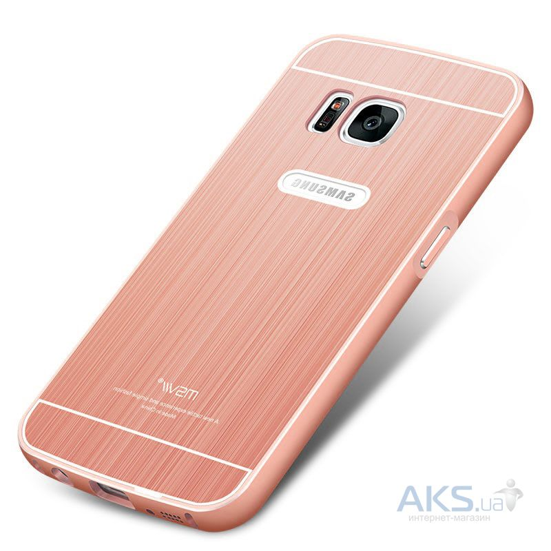 Чехол MSVII Metal Series Samsung G930 Galaxy S7 Rose Gold