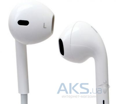 Гарнитура для телефона Apple EarPods with Remote and Mic (MD827) High Copy