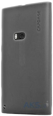 Чехол Capdase Soft Jacket Xpose Tinted Black for Nokia Lumia 920 (SJNK920-P201)