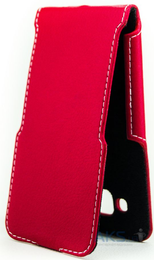Чехол Status Side Flip Series Samsung J500 Galaxy J5 Red