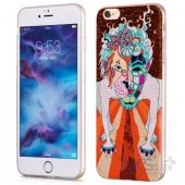 Вид 2 - Чехол Hoco Element Series Mythology Dogz Apple iPhone 6 Plus, iPhone 6S Plus Brown
