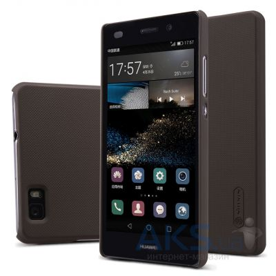 Чехол Nillkin Super Frosted Shield Huawei Ascend P8 Lite Brown