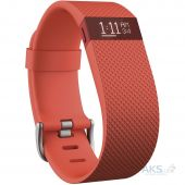 Спортивный браслет Fitbit Charge HR Small Tangerine (FB405TAS)