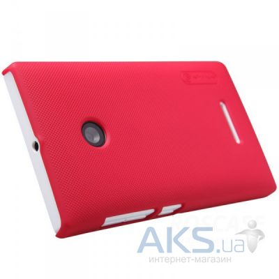 Чехол Nillkin Super Frosted Shield Microsoft Lumia 532 Red