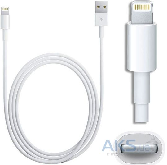 Кабель USB Apple iPhone Lightning to USB 2.0 (MD818) Все версии iOS! White - фото 5
