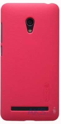Чехол Nillkin Super Frosted Shield Asus Zenfone 5 Lite A502CG Red