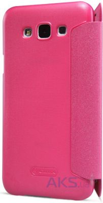 Чехол Nillkin Sparkle Leather Series Samsung E500 Galaxy E5 Pink