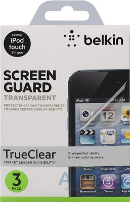 Защитная пленка Belkin iPоd touch 5Gen Screen Overlay CLEAR 3in1 (F8W208cw3)