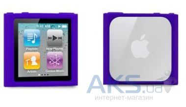 Чехoл Tunewear Icewear Purple for iPod nano 6G