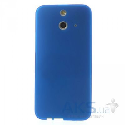 Чехол Original TPU чехол для HTC One E8 Dual sim Dark Blue